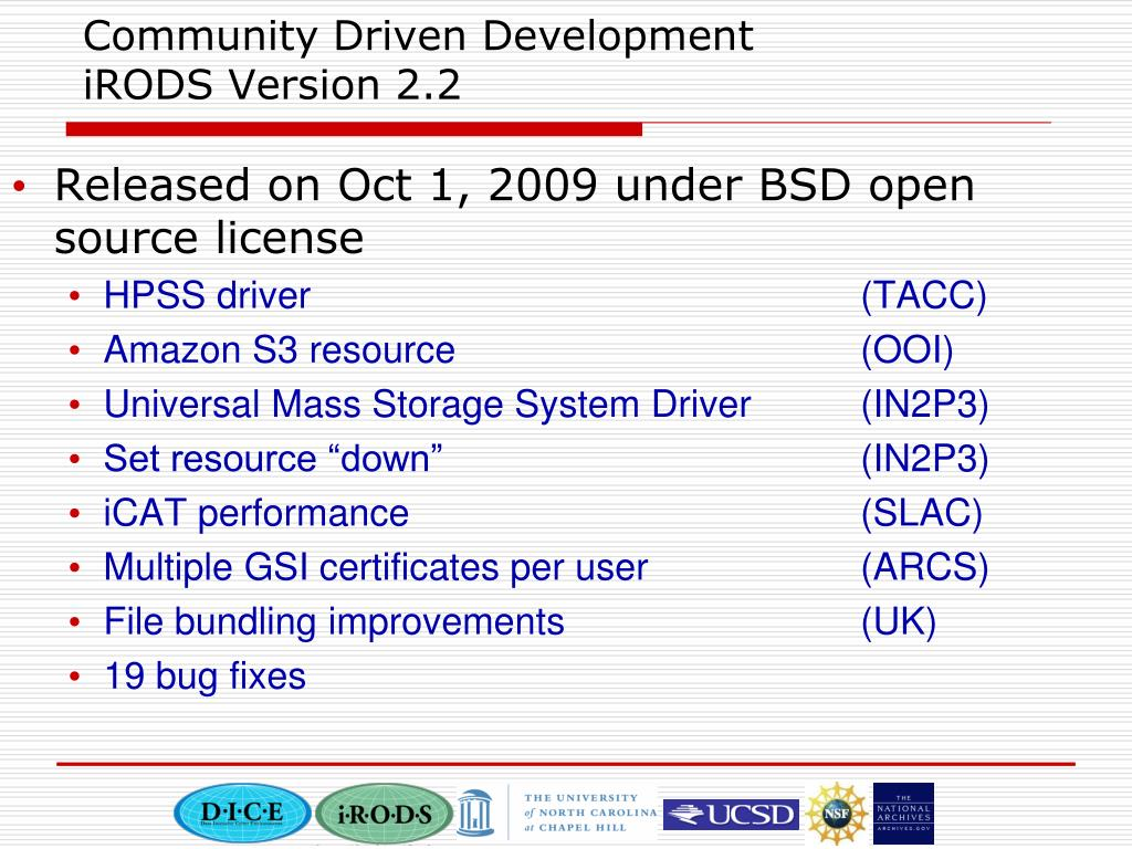Community Driven Development