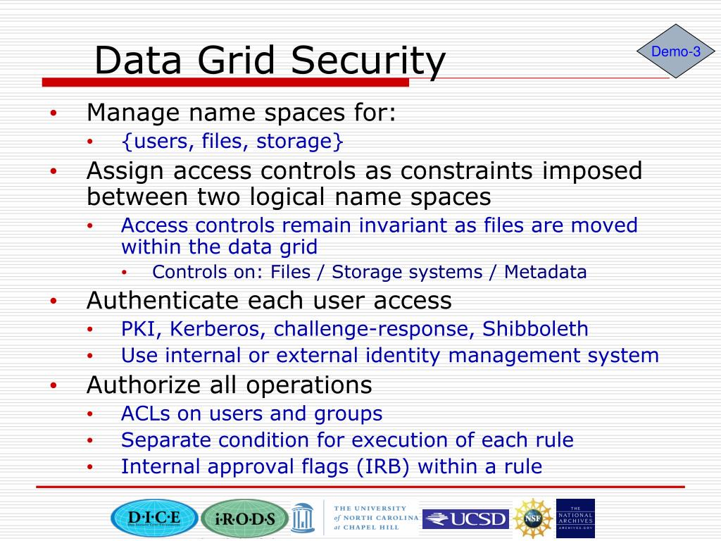 Data Grid Security