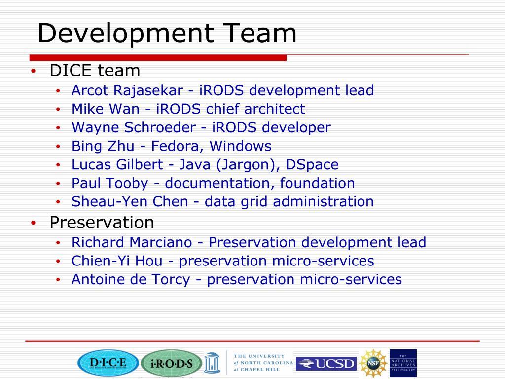 Development Team