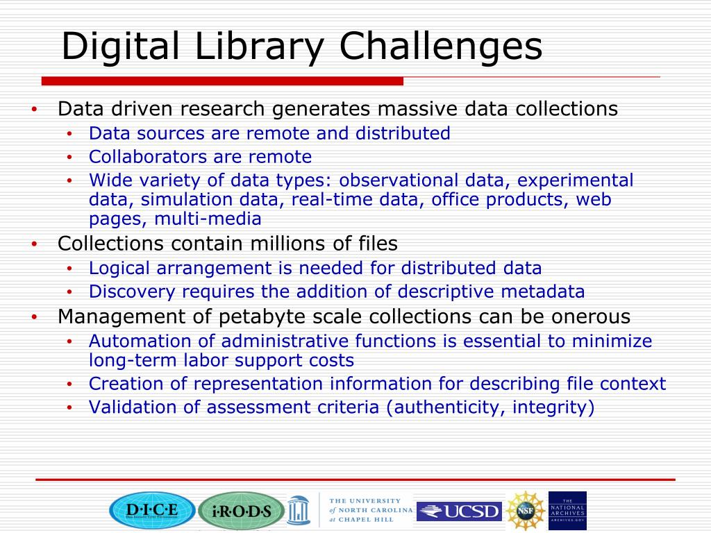 Digital Library Challenges