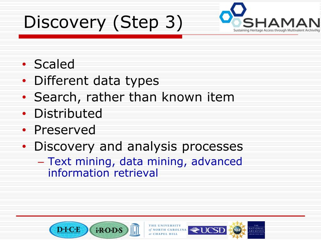 Discovery (Step 3)