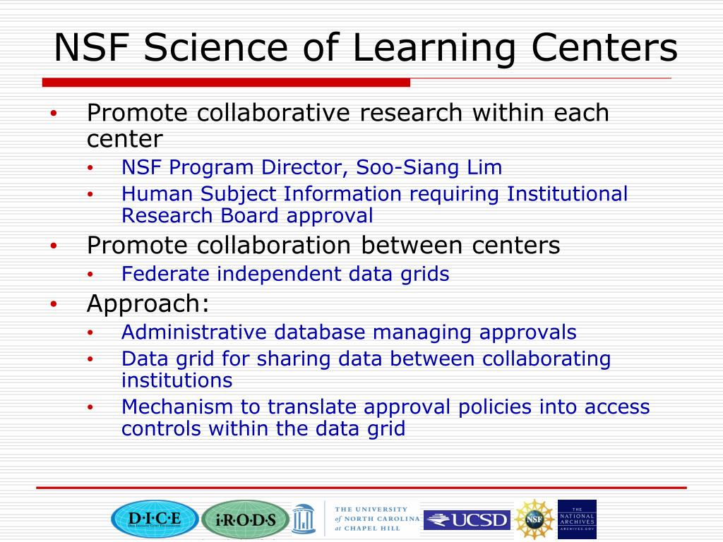 NSF Science of Learning Centers