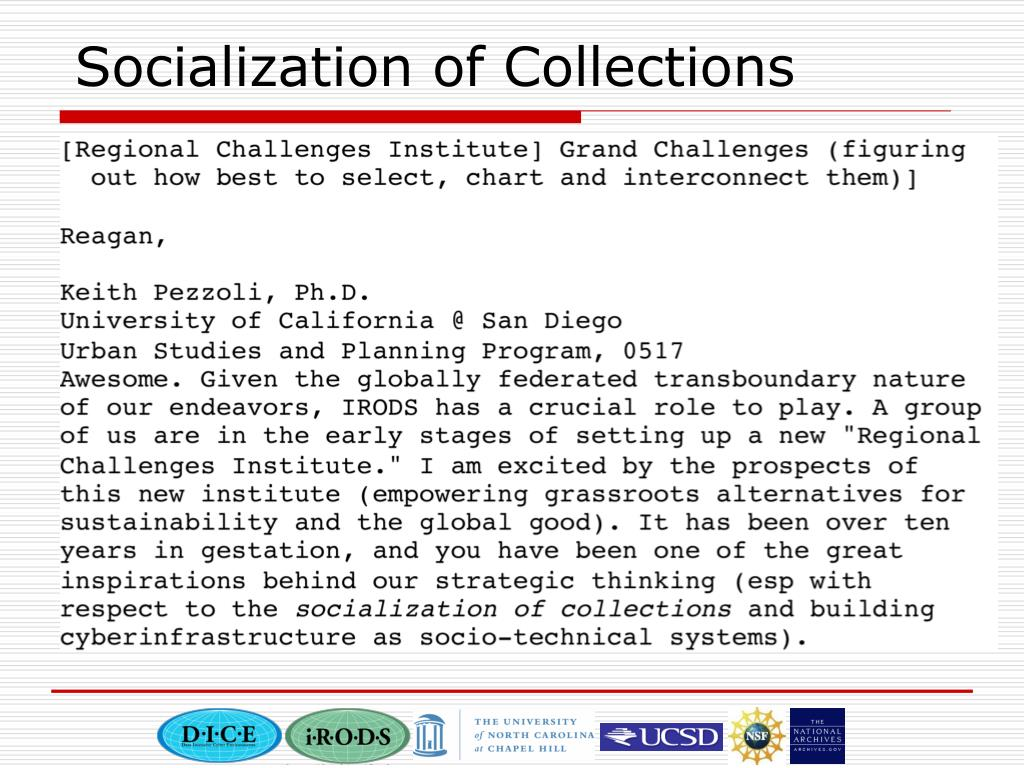 Socialization of Collections