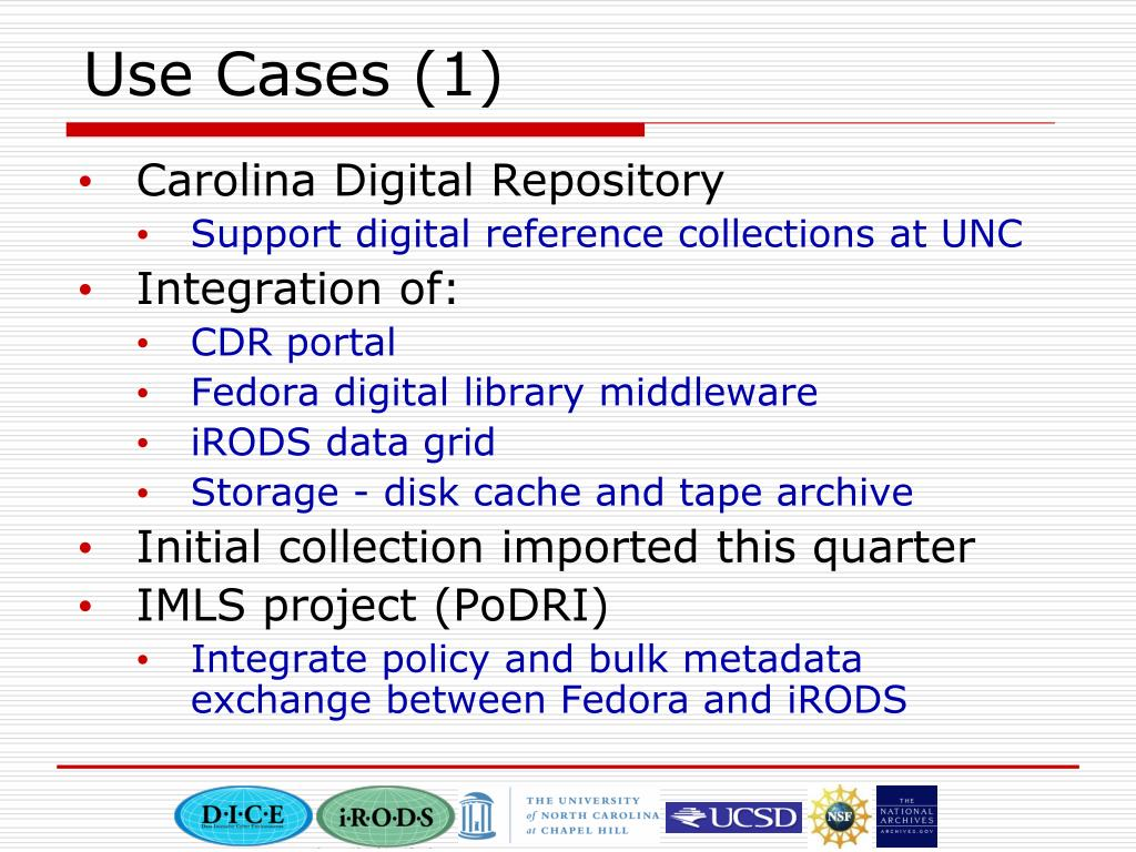 Use Cases (1)