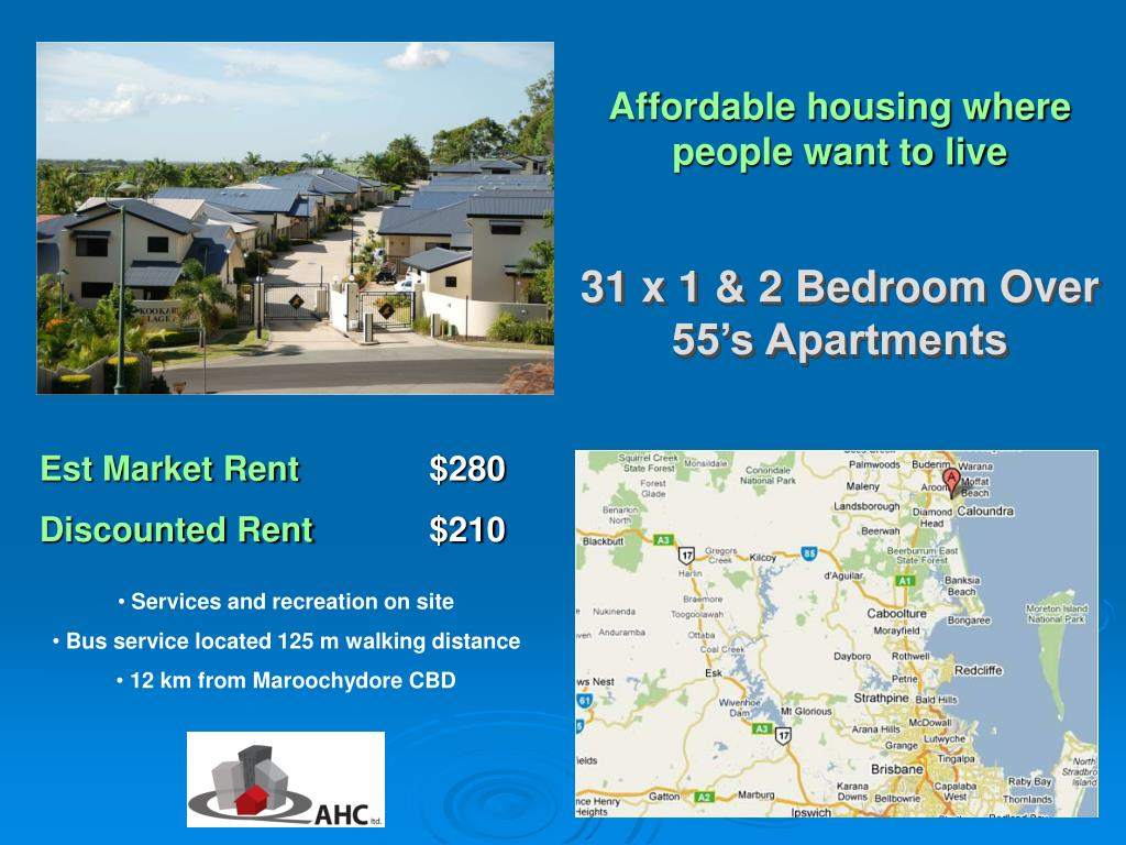 Affordable housing where people want to live