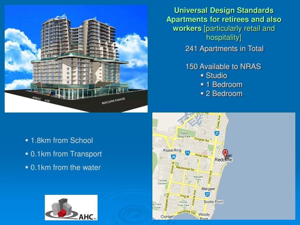 Universal Design Standards Apartments for retirees and also workers