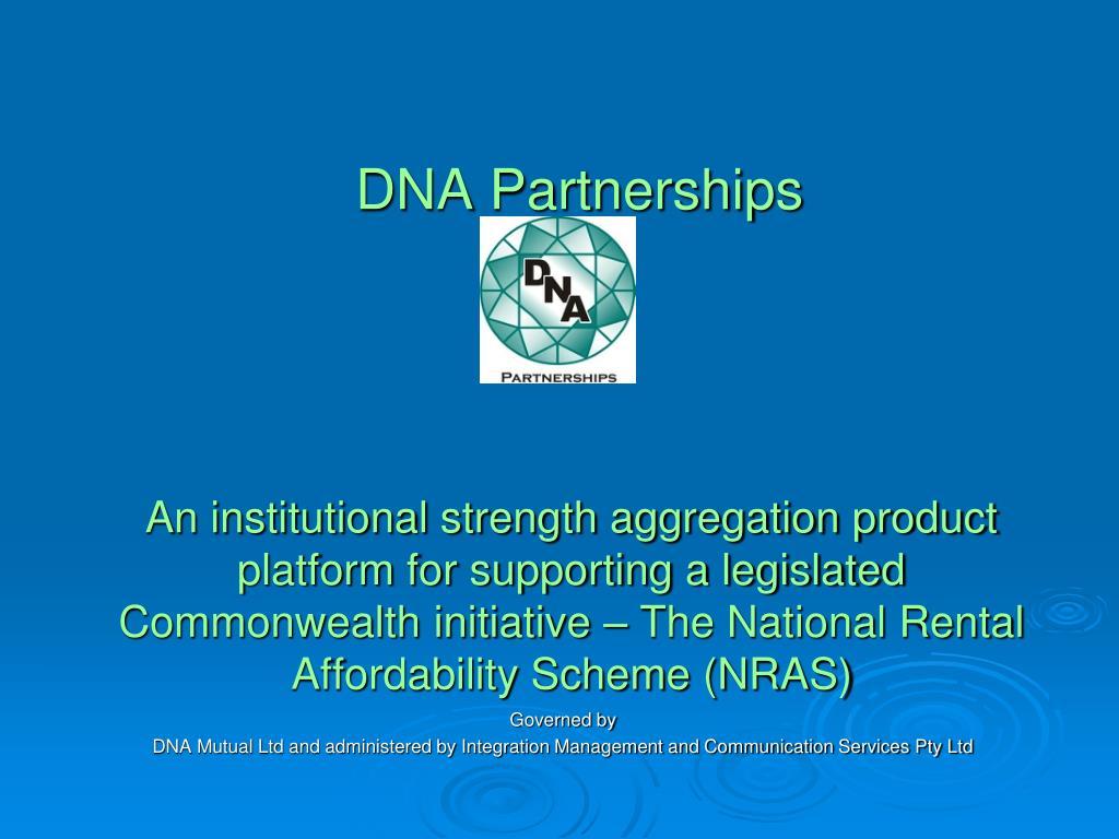 DNA Partnerships