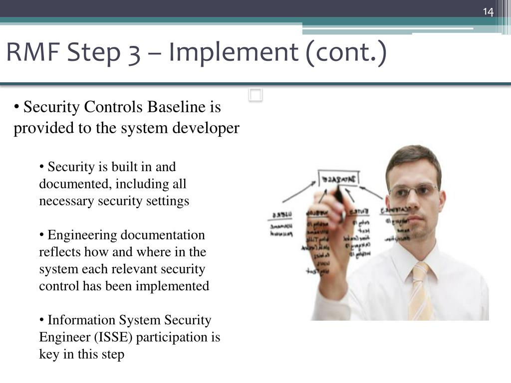 RMF Step 3 – Implement (cont.)
