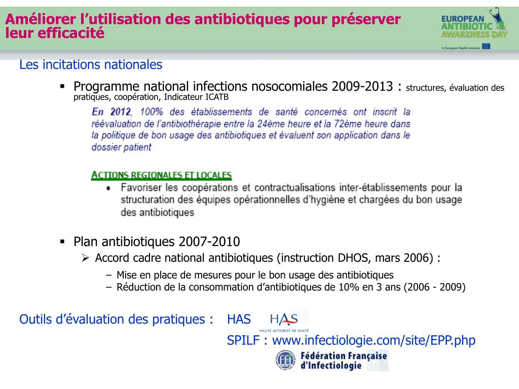 Les incitations nationales
