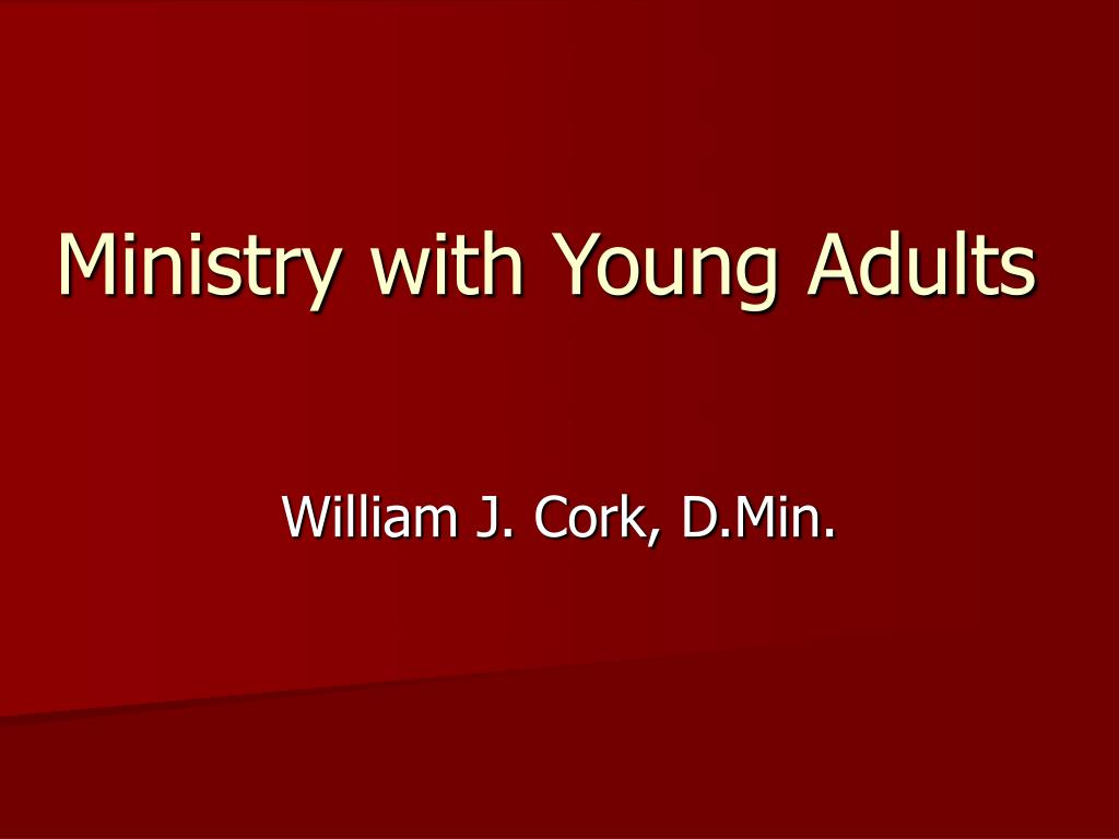 ministry with young adults l.