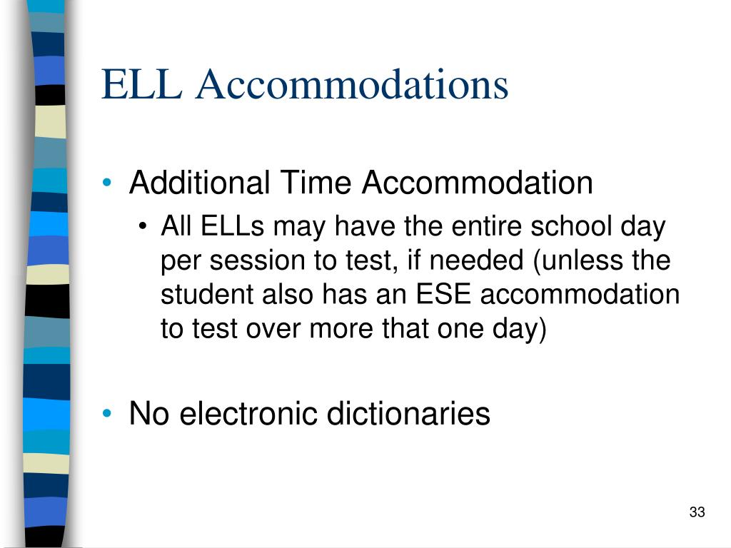 ELL Accommodations