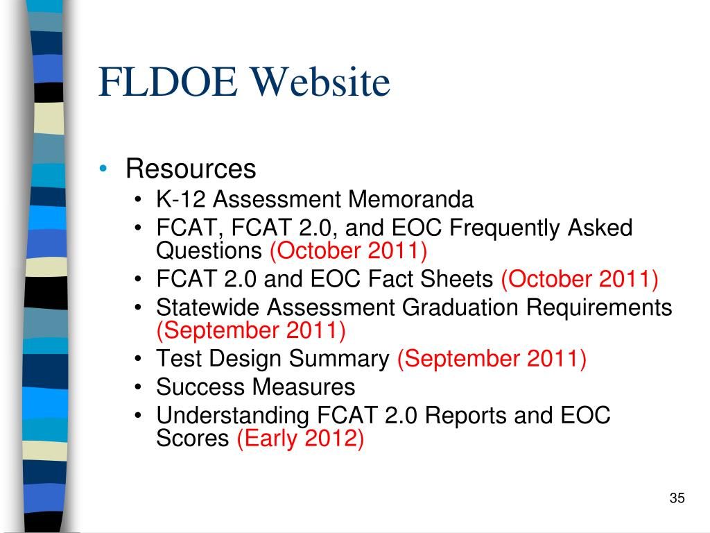 FLDOE Website