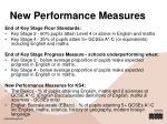 new performance measures