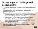 school support challenge and accountability