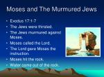 moses and the murmured jews5