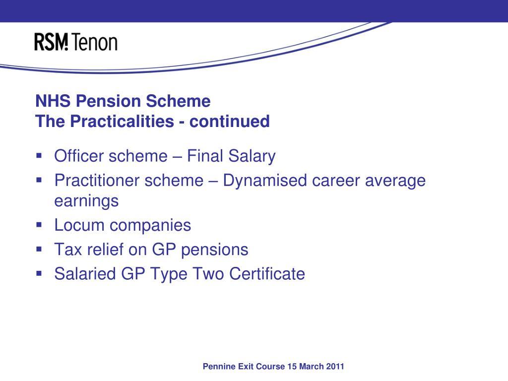 NHS Pension Scheme
