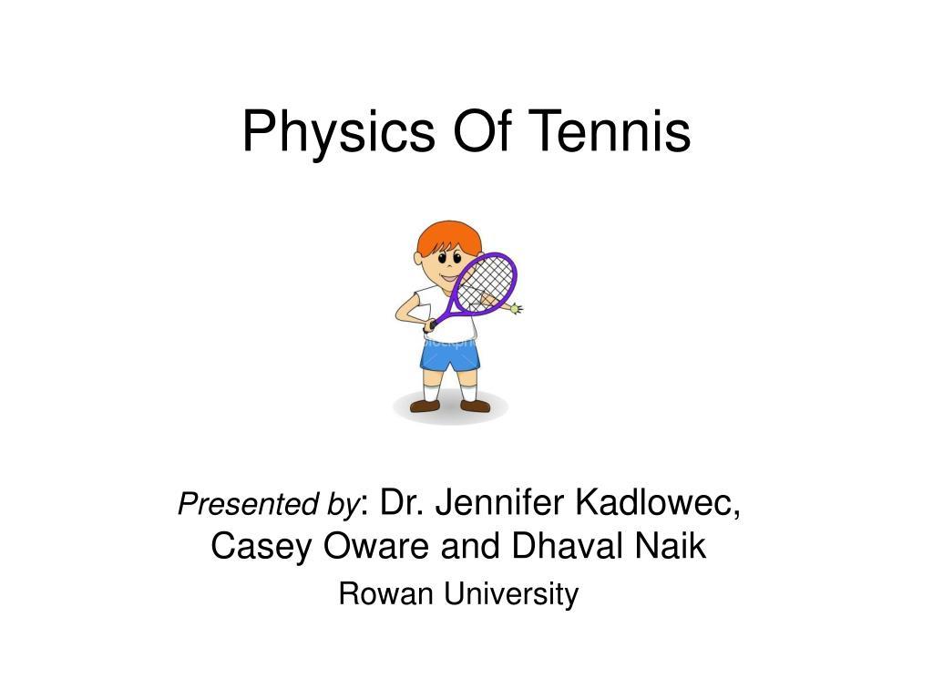 physics of tennis
