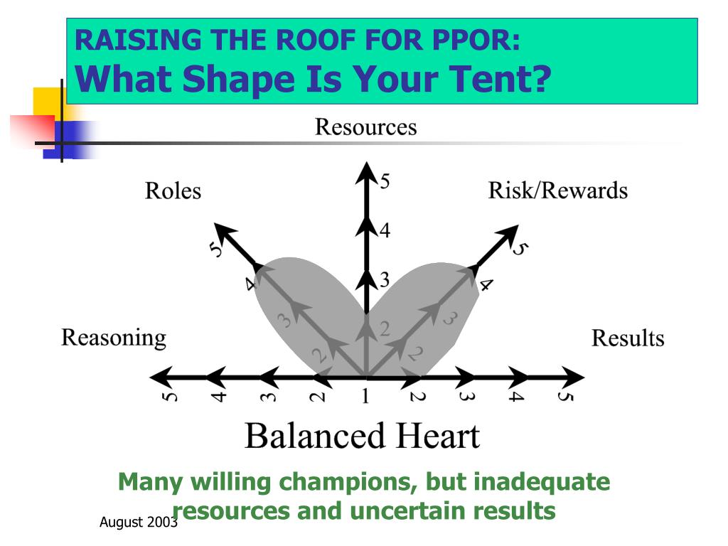 RAISING THE ROOF FOR PPOR: