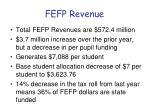 fefp revenue