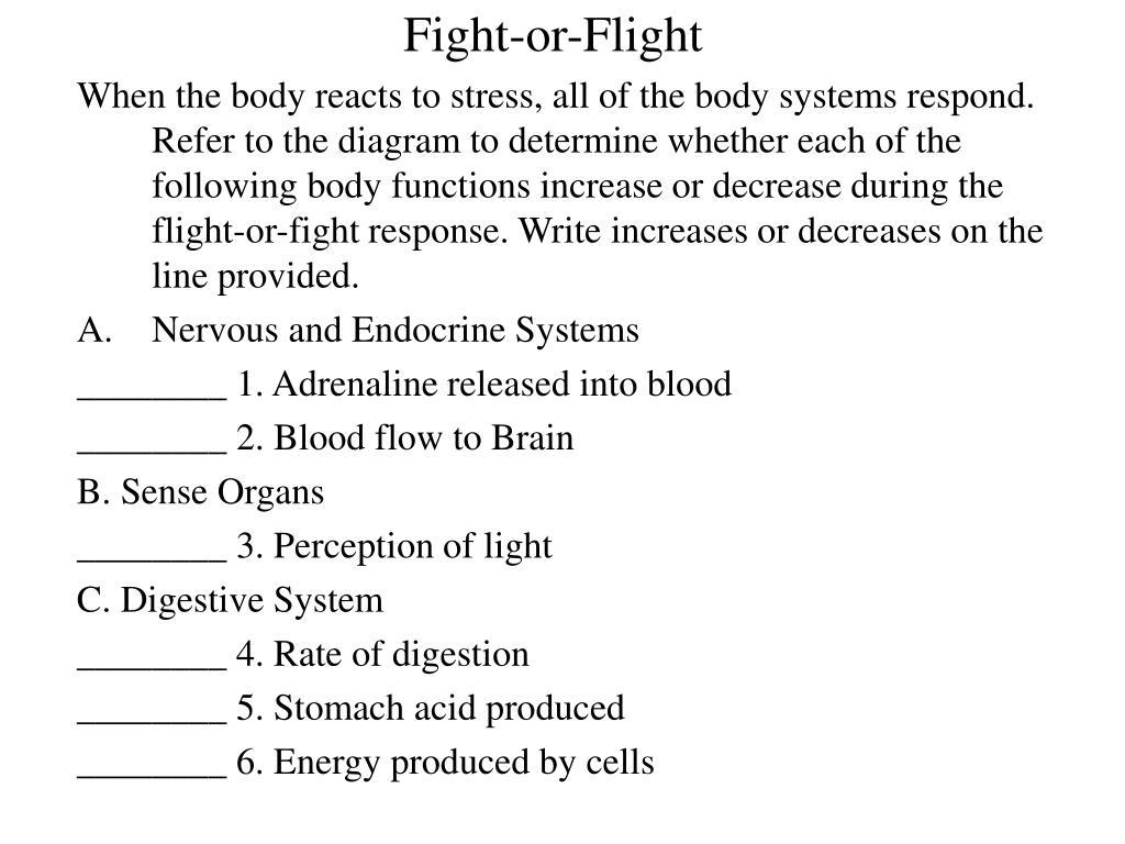 Fight-or-Flight