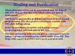 healing and purification