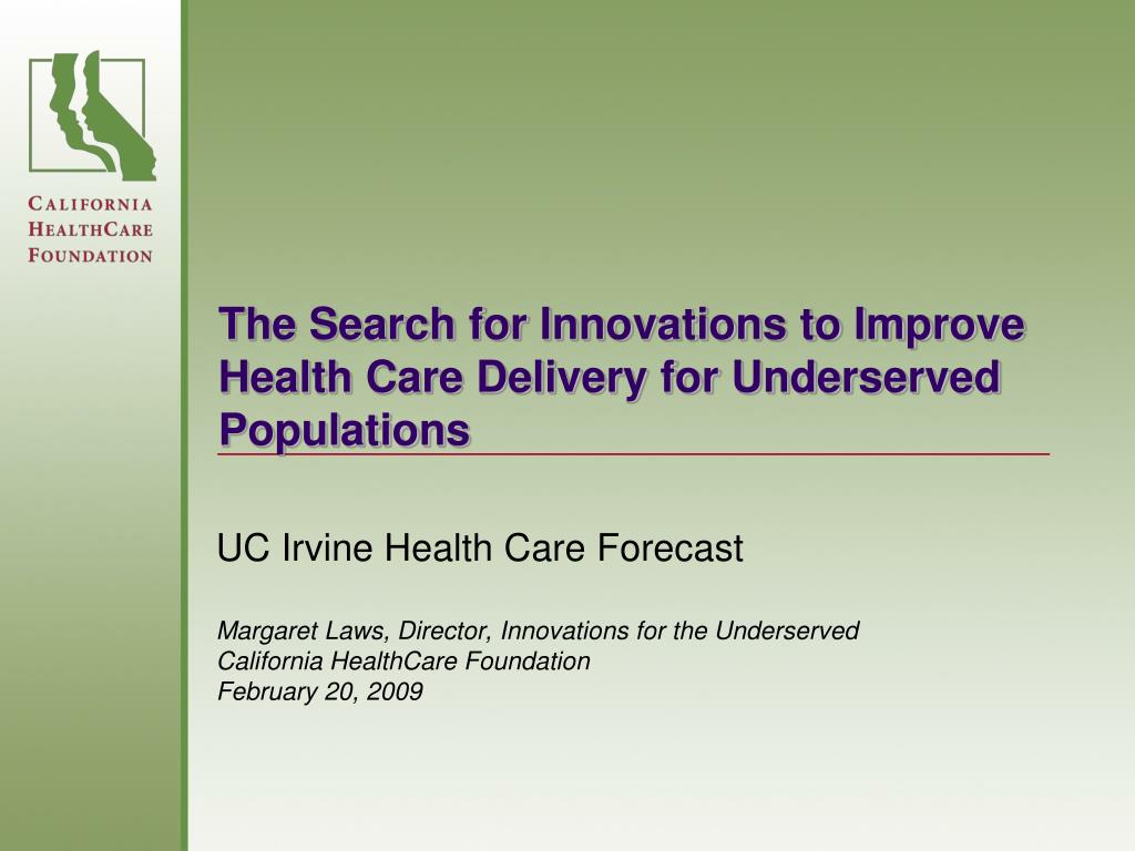 UC Irvine Health Care Forecast