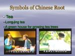 symbols of chinese root