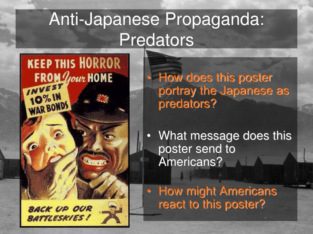 Anti-Japanese Propaganda: Predators