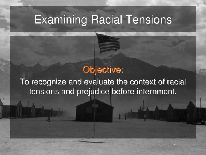 Examining racial tensions