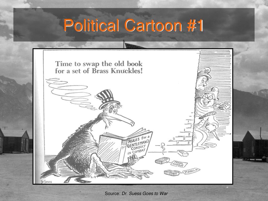 Political Cartoon #1