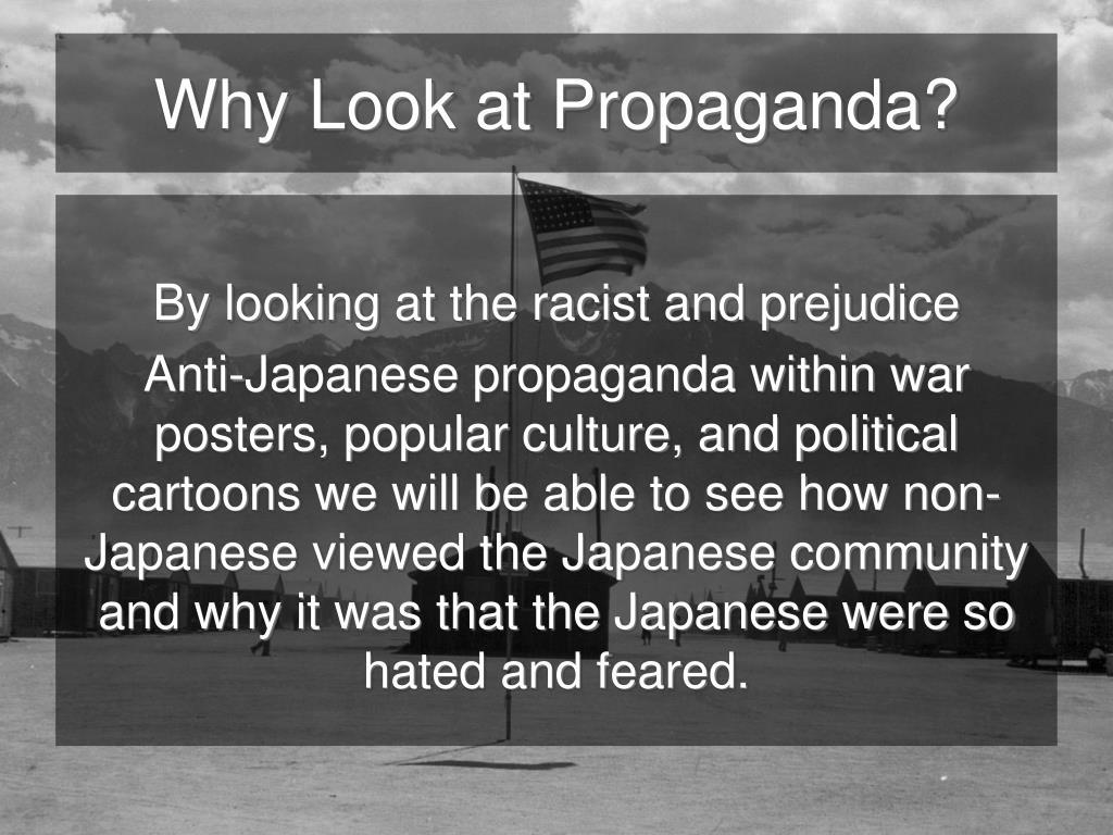 Why Look at Propaganda?