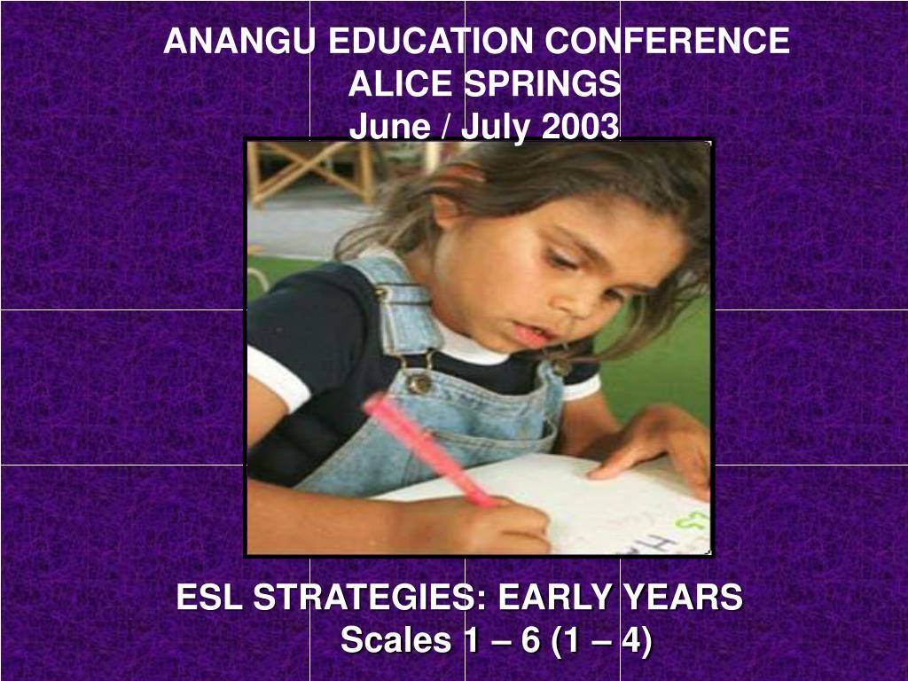 ANANGU EDUCATION CONFERENCE