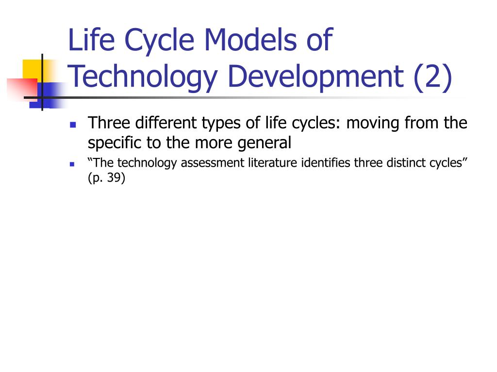 Life Cycle Models of Technology Development (2)