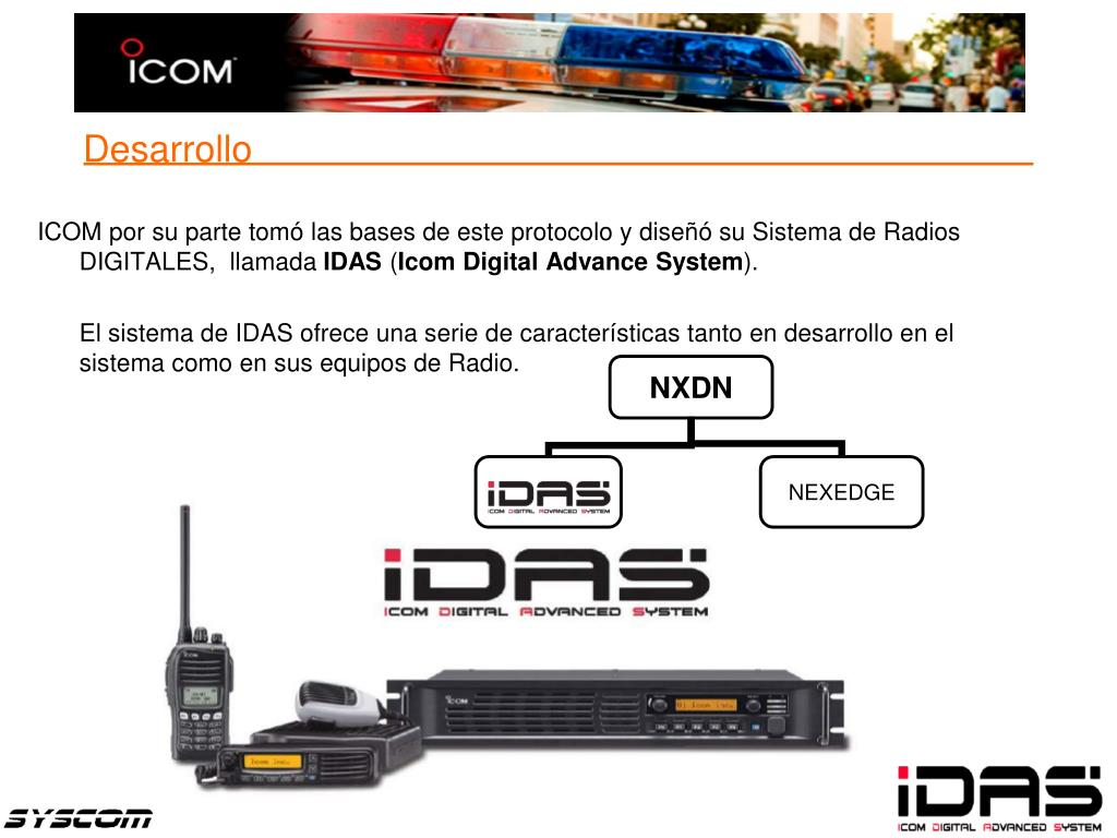 ICOM por su parte tomó las bases de este protocolo y diseñó su Sistema de Radios DIGITALES,  llamada