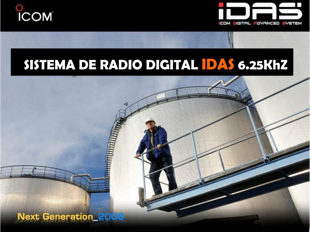 SISTEMA DE RADIO DIGITAL