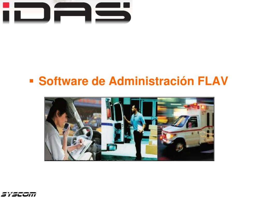 Software de Administración FLAV