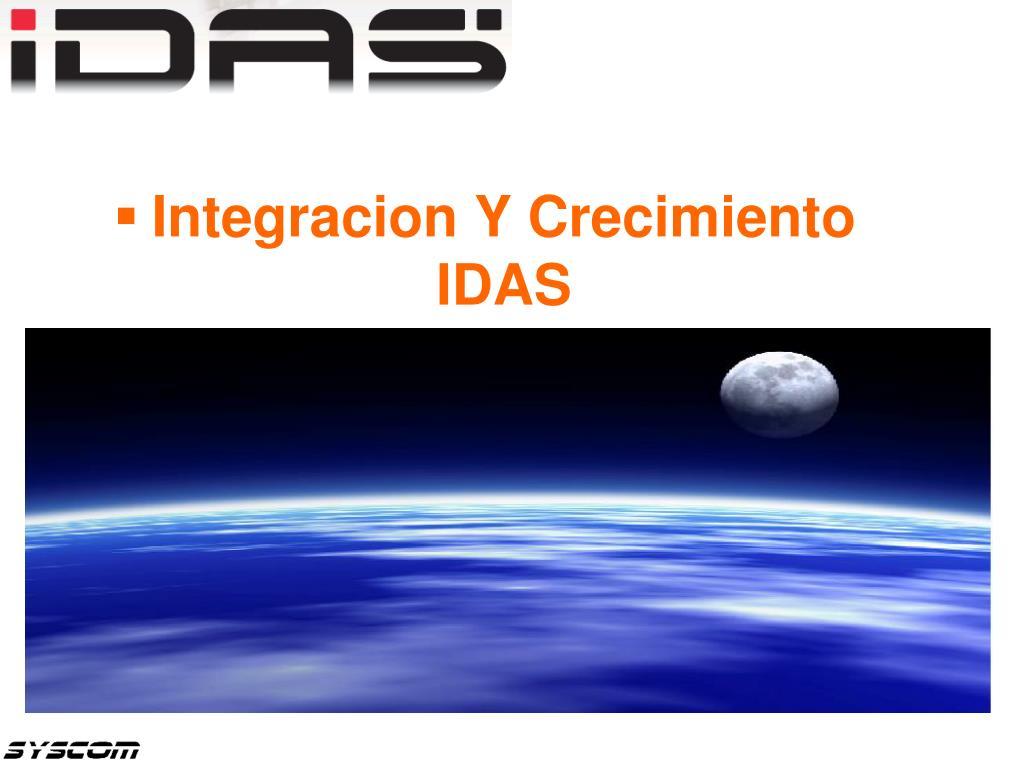 Integracion Y Crecimiento IDAS