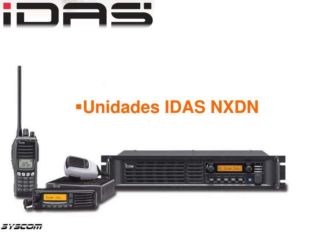 Unidades IDAS NXDN