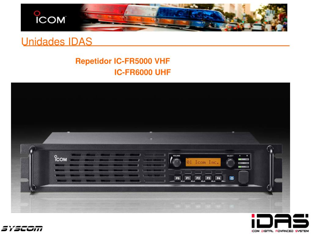Repetidor IC-FR5000 VHF