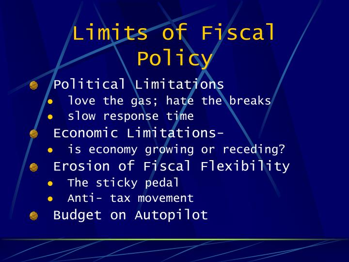 Limits of Fiscal Policy