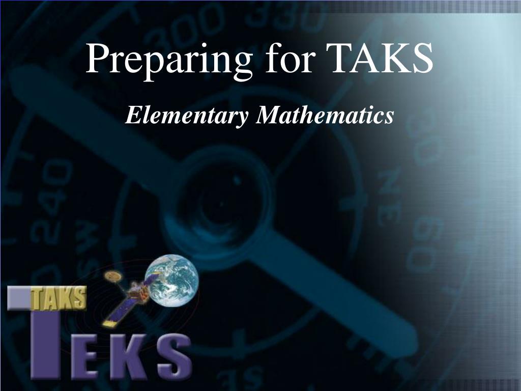 preparing for taks l.