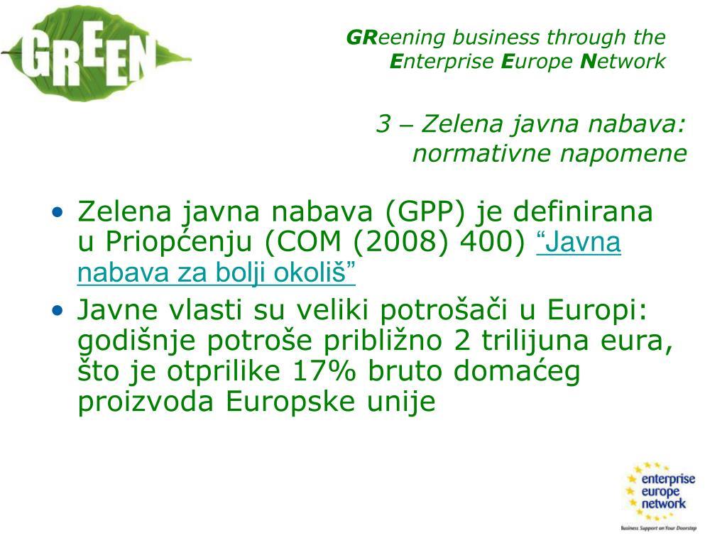 Zelena javna nabava
