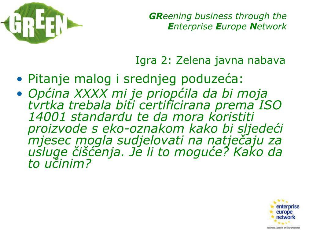 Pitanje malog i srednjeg poduzeća