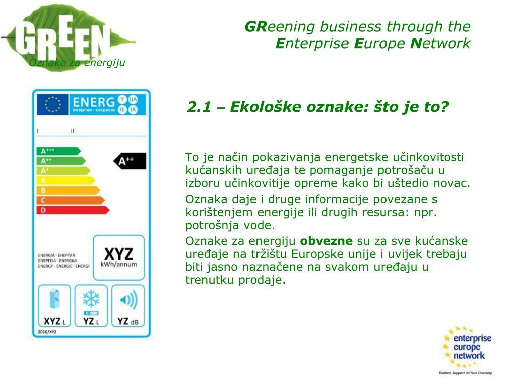 Oznake za energiju