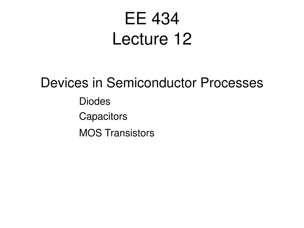 ee 434 lecture 12 l.