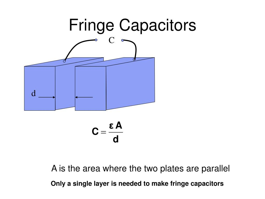 Fringe Capacitors