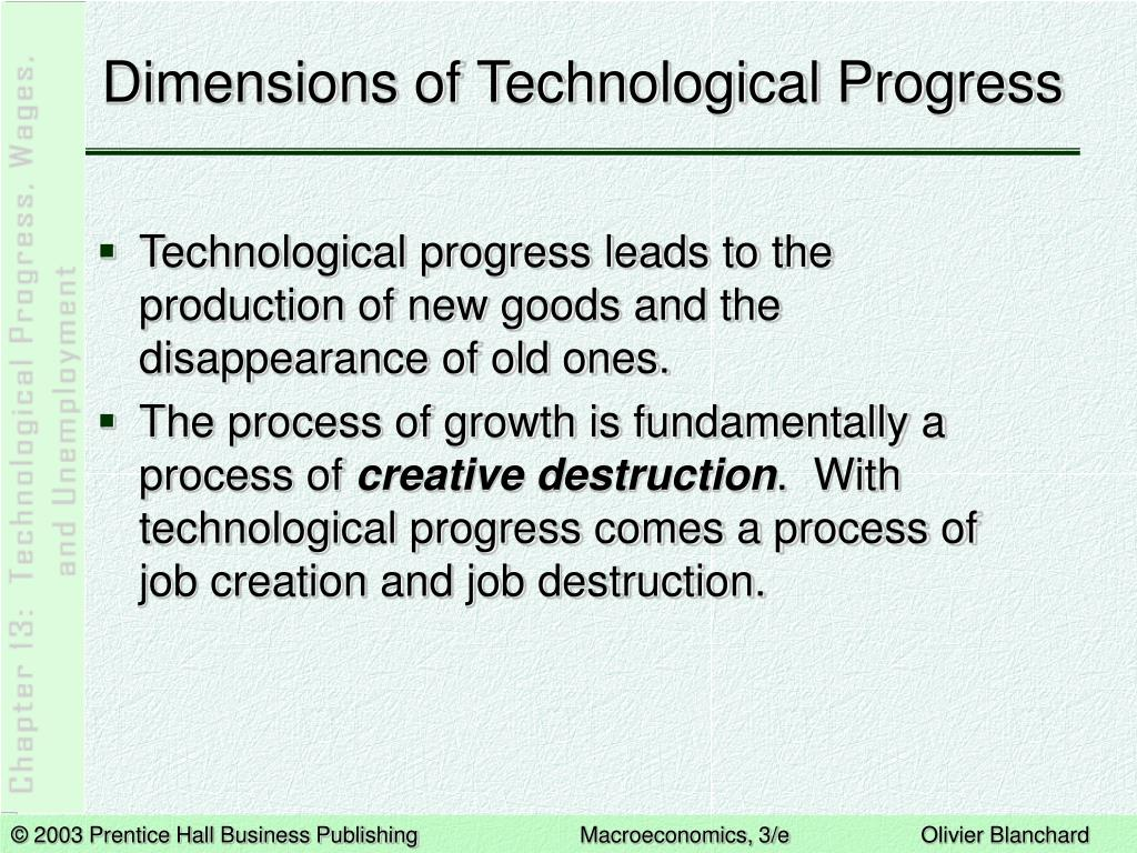 Dimensions of Technological Progress