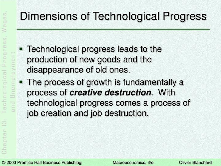 Dimensions of technological progress3