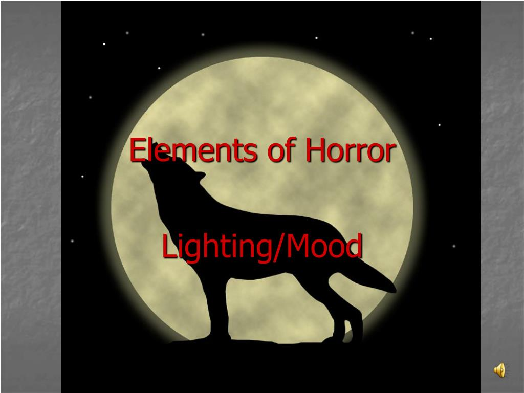 Elements of Horror