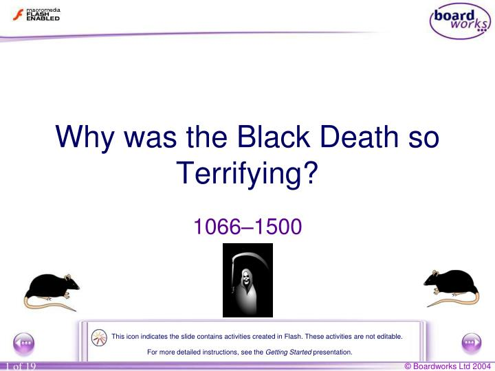 Why was the black death so terrifying